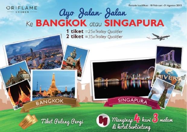 Promo Trip Bangkok & Singapore with Oriflame - BISNIS ...